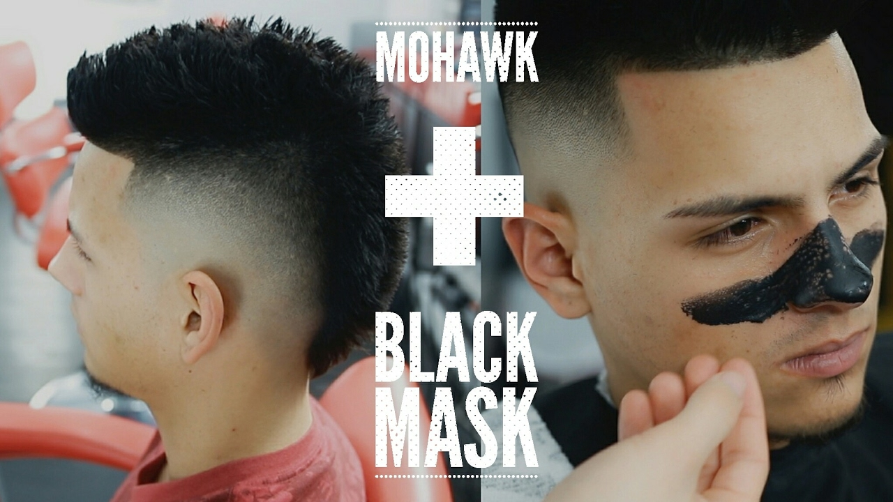 Modern Mohawk Tutorial How To Step By Step Faux Hawk Youtube