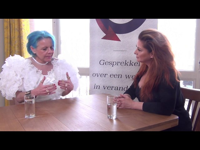 In overvloedige wereld wordt kopen een politieke uiting | Marlies Dekkers & The Lady in Blu #vdotv