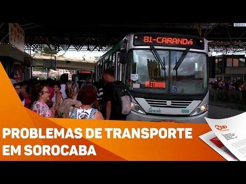 Problemas de transporte em bairros de Sorocaba - TV SOROCABA/SBT