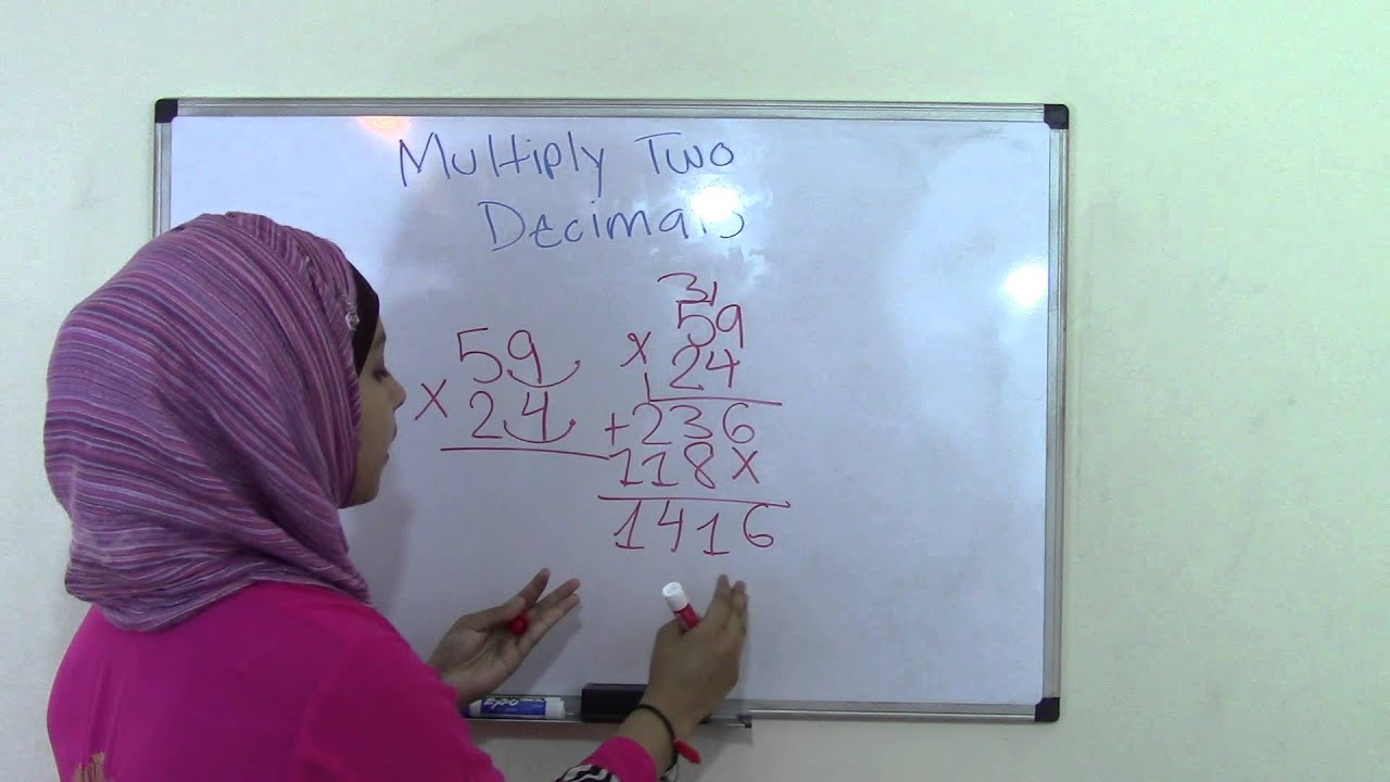 Common core worksheets multiplying decimals