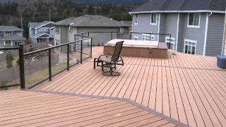 Best composite wood fence designs