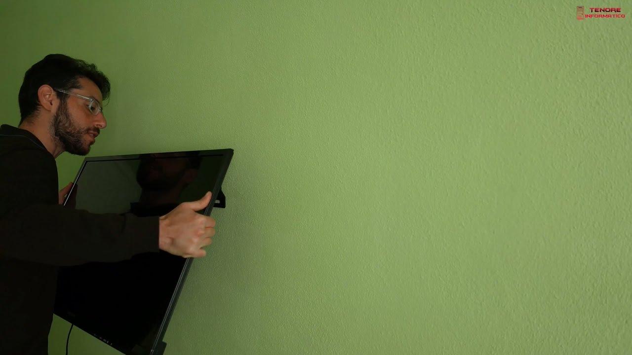 Appendere Tv Muro come appendere la tv alla parete di casa