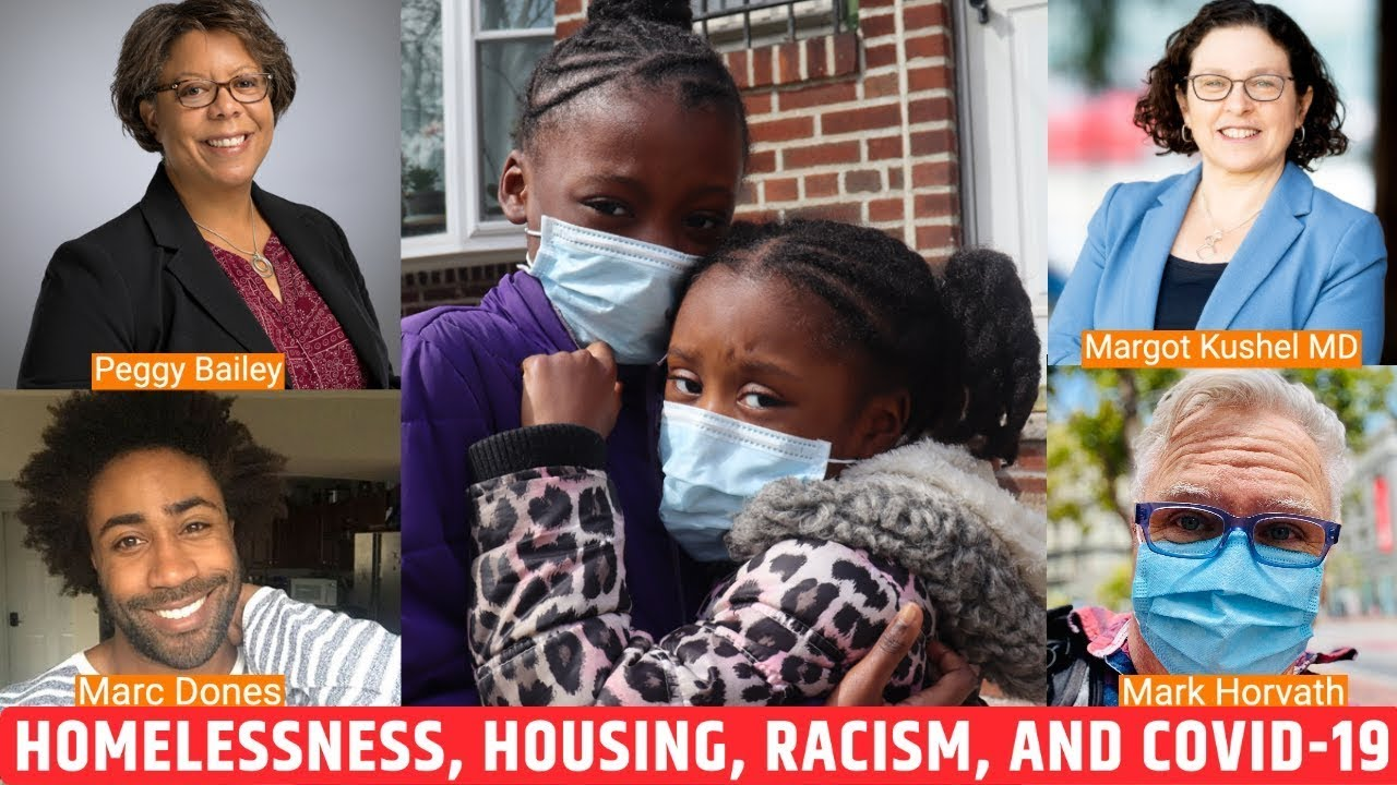 LIVE Stream on Homelessness, Housing, Racism, and COVID-19