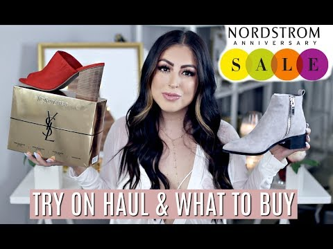 Nordstrom Anniversary Sale TRY ON HAUL: WHAT TO BUY 2017