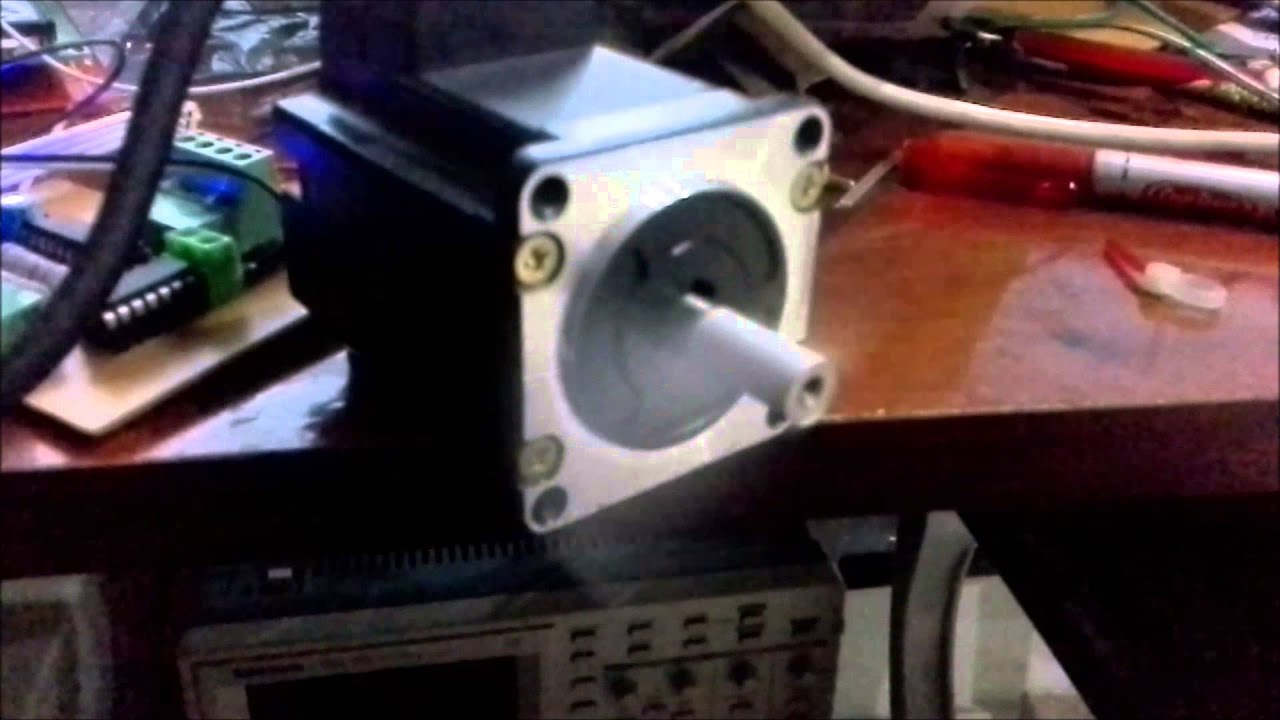 Diy high speed step motor driver youtube for High speed stepper motor