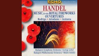 Music for the Royal Fireworks, suite HWV 351: Bourrée