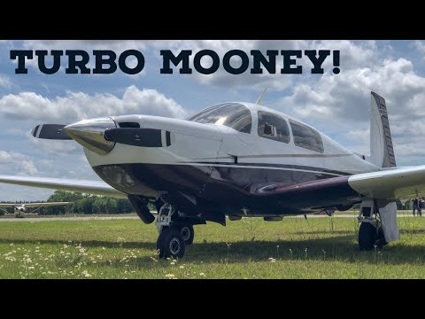 First Time Flying the TURBO MOONEY M20K!