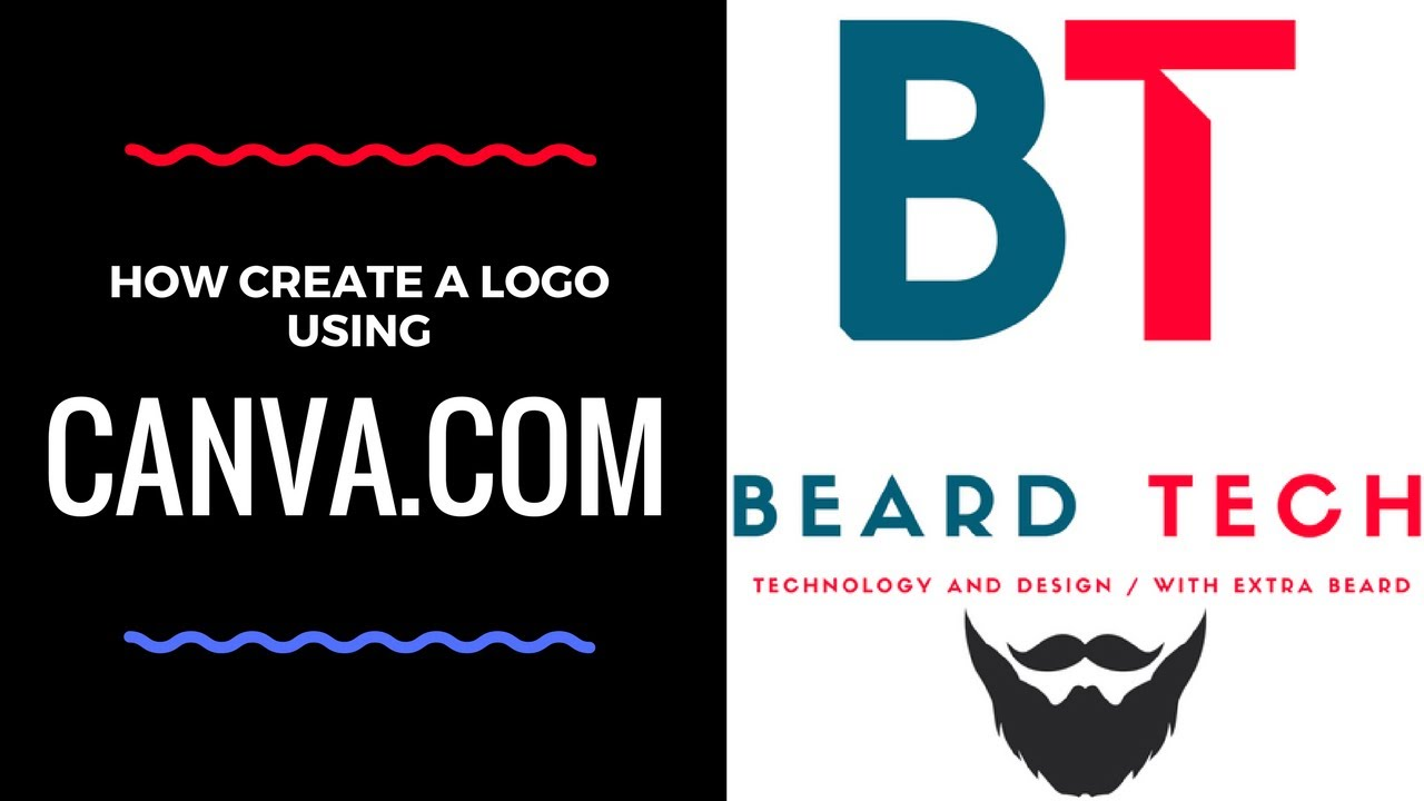 Designing A Logo For Yourself Or Your Business Using Canva Free Guaranteed Results