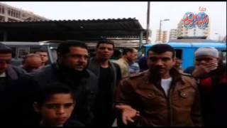 اضراب السائقين بخط شبين الكوم قويسنا  لسوء ادارة مشروع المواقف