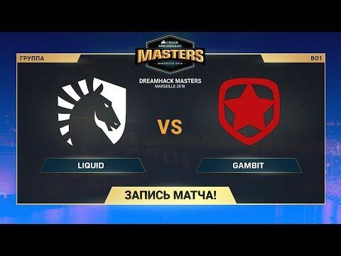 Gambit vs Team Liquid vod