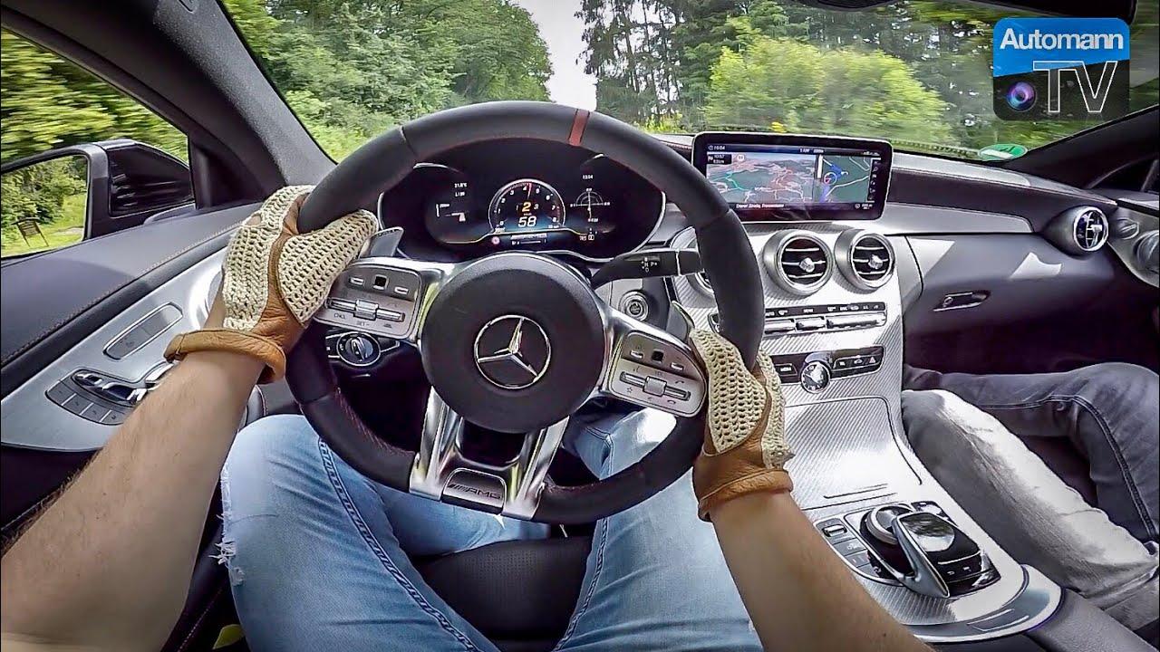 2019 Mercedes-AMG C43 (390hp) - POV DRIVE!