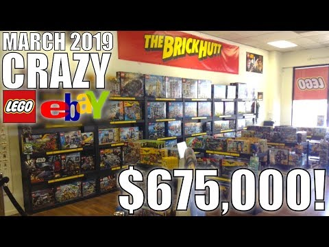 CRAZY LEGO EBay LISTINGS! March 2019!