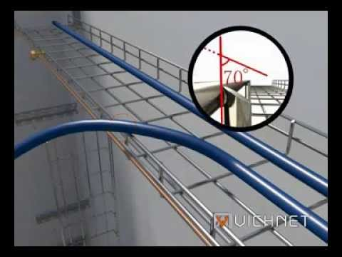 About Vichnet Wire Mesh Cable Tray Amp Accessories Youtube