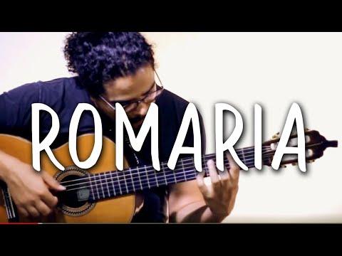 Renato Teixeira- ROMARIA (Violão Solo Fingerstyle) MPB #22