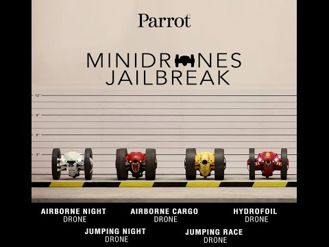 Watch Parrot Minidrones Jailbreak!