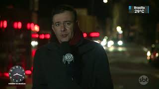 Tempestade de neve bate recorde nos Estados Unidos | SBT Brasil (27/12/17)