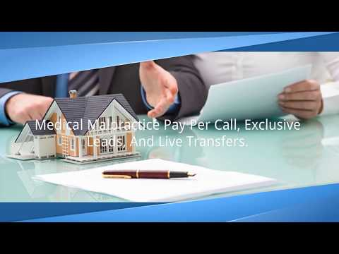 Medical Malpractice Pay Per Call, Exclusive Leads, and Live Transfers - Elocal.com Advertising