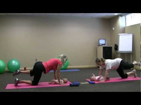 Mommy & Baby Exercise Demonstrations
