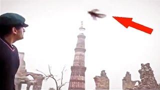 Đoạn video quay được người bay bí ẩn đáng sợ