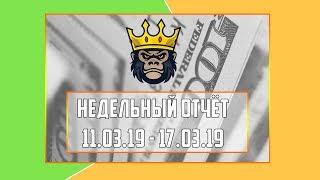 Недельный видео-отчёт 11.03.19 - 17.03.19 - RichMonkey.biz