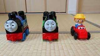機関車トーマス メガブロック 2WAYレーシングワゴン