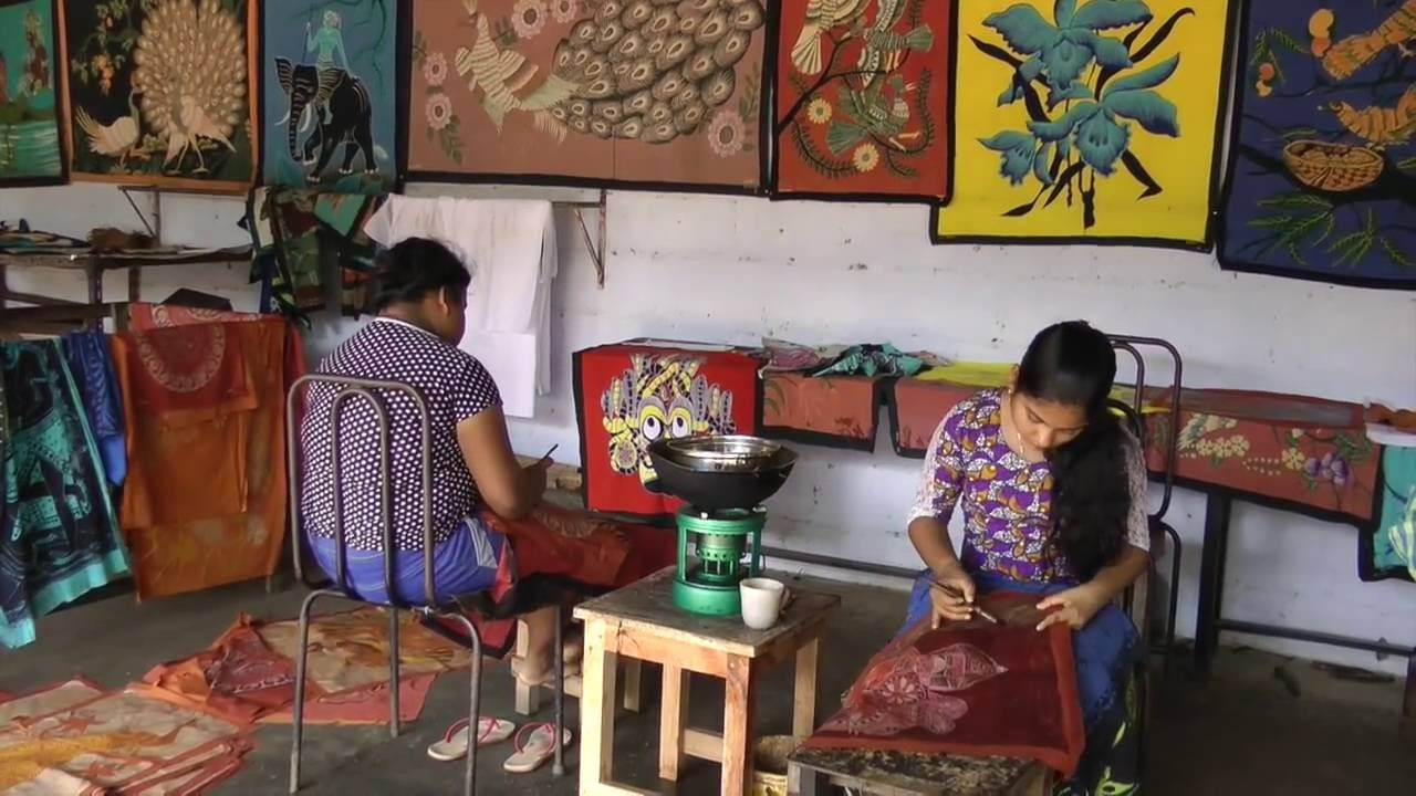 best website 73c21 708f0 Batik Workshop in Matale Sri Lanka