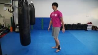 元チャンピオンの青木亮がキックボクシングやムエイタイのちょっとした...