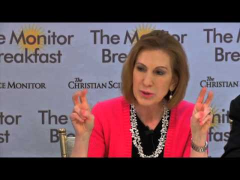 Carly Fiorina Breakfast
