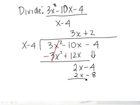 Chapter 2 Dividing Polynomials (Long Division)