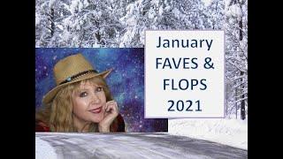 January FAVES n FLOPS 2021  BarryM  FLOWER Clinique LORAC & More!