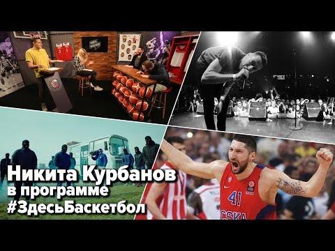 Никита Курбанов в программе Здесь Баскетбол (Выпуск 21)