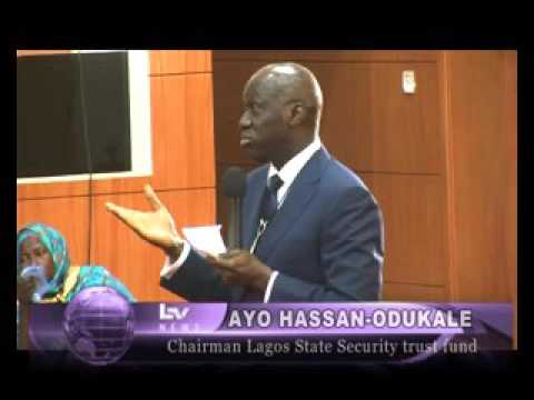 REPORT ON LAGOS STATE SECURITY TRUST FUND