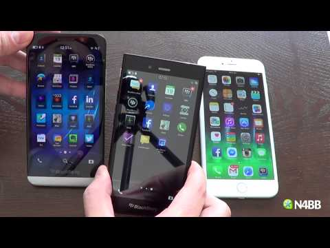 Apple iPhone 6 Plus vs BlackBerry Z30 and Z3