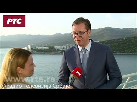 Vučić za RTS: Neće Srbe na Kosmetu napadati ni NATO ni Crna Gora