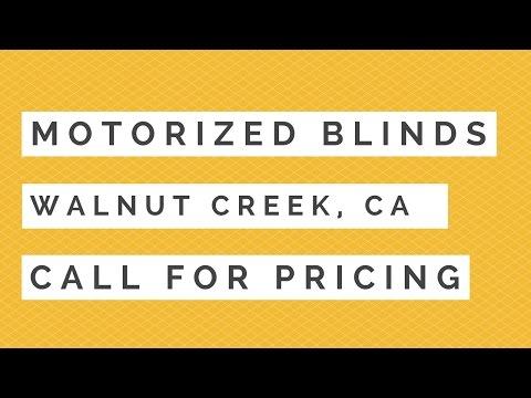 Motorized Blinds Walnut Creek | Best Walnut Creek CA Motorized Window Treatments