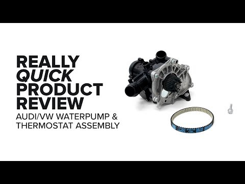Volkswagen - Water Pump Kit - Problems, Specs, and Product Review (GTI, Golf R, Alltrack, and More)