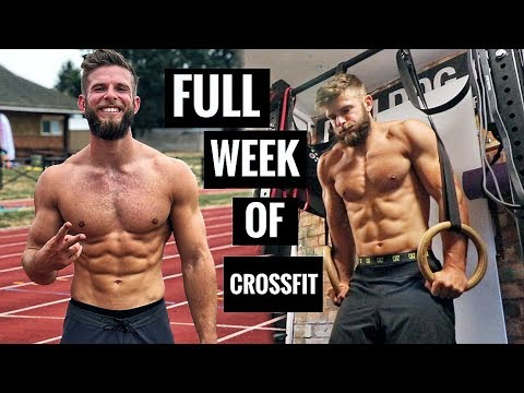A FULL WEEK Of CROSSFIT® TRAINING (Aim: Regionals 2019)