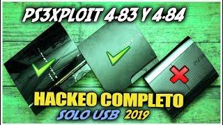 PS3Xploit 4.84 | instala CFW desde OFW solo USB | Flash writer/Dump Solo modelos compatibles | 2019