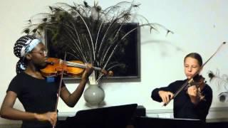 Worldweyes Duo, Pleyel 6 Duets for Two Violins, Duo III, Mvt 1 Allegro