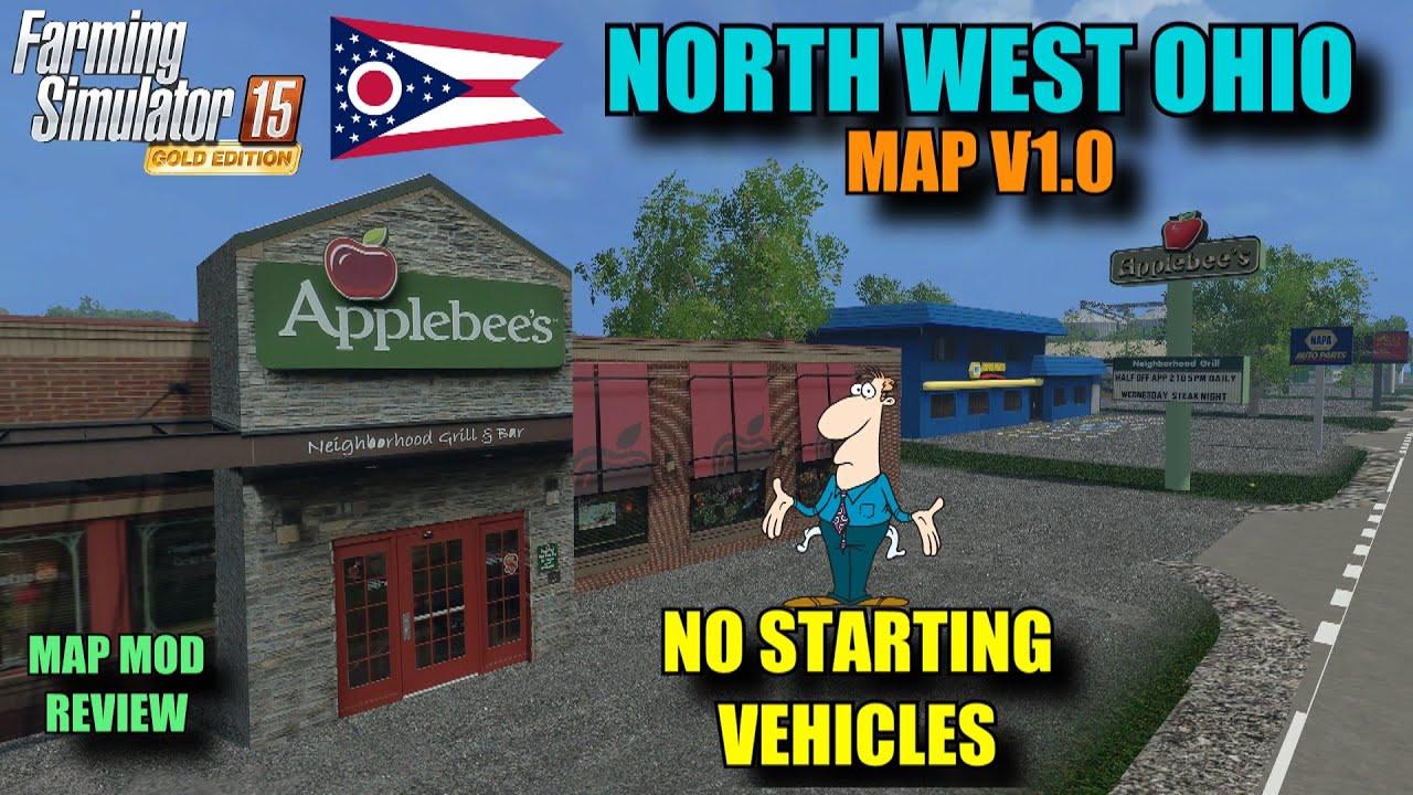 Farming Simulator Mod Review North West Ohio Map V Map - North west ohio map