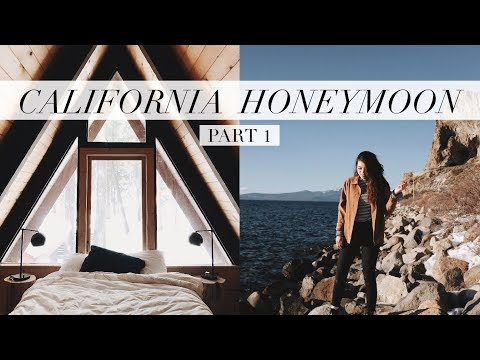 California Honeymoon Pt  1