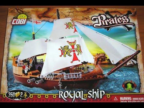 Cobi Pirates Review: Royal Ship Set 6018