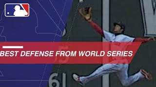 Top defensive plays from the 2018 World Series