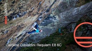 Caroline Ciavaldini first female ascent requiem E8 6c