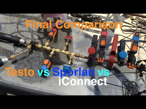 HVAC Tools: Final Comparison Testo vs Sporlan vs iConnect