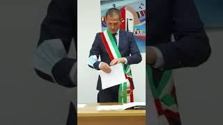 San Giacomo degli Schiavoni: il giuramento del sindaco Costanzo Della Porta