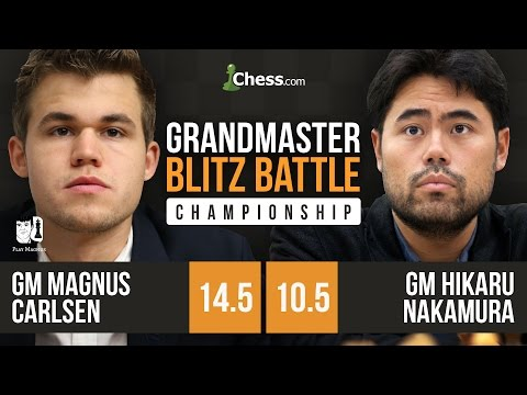 Blitz Battle: Magnus Carlsen Swindles Hikaru Nakamura