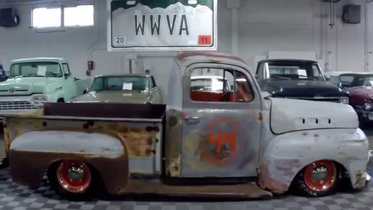 1951 Ford F1 Rat Rod - Rat Rod Magazine Build Off Competitor ...