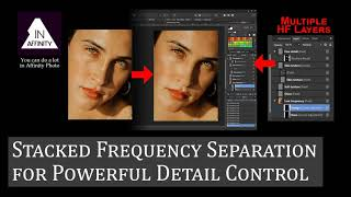 Stacked Frequency Separation for Powerful Detail Control