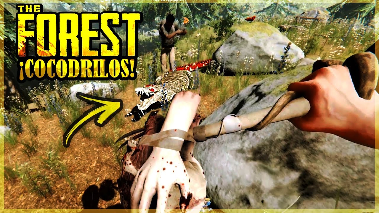 NOS ATACAN DOS COCODRILOS  - THE FOREST #5